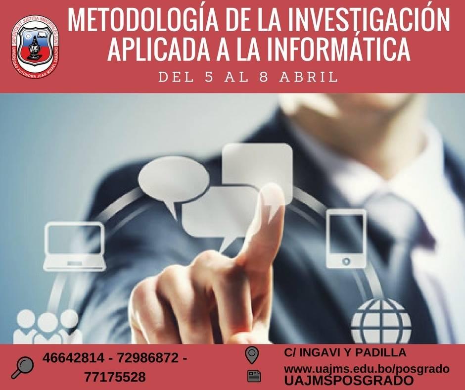 METODOLOGÍA DE LA INVESTIGACIÓN CIENTÍFICA APLICANDO LA INFORMÁTICA